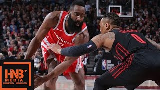 Houston Rockets vs Portland Trail Blazers Full Game Highlights / March 20 / 2017-18 NBA Season