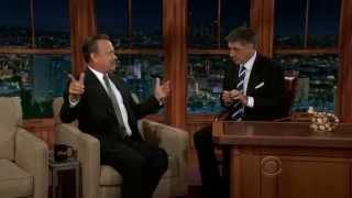 Tom Hanks on Craig Ferguson Oct. 29, 2012