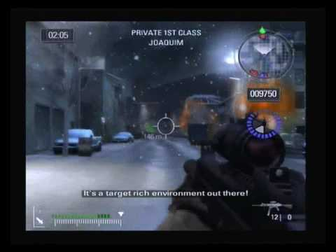 Battlefield 2 Mission 1 (PS2)