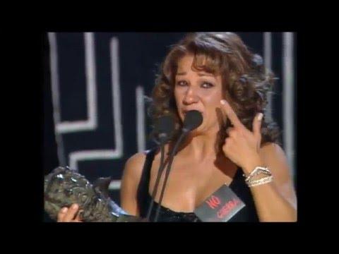 Lolita gana el Goya a Mejor Actriz Revelación en 2003