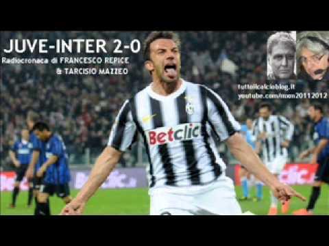 JUVENTUS-INTER 2-0 – Radiocronaca di Francesco Repice & Tarcisio Mazzeo (25/3/2012) da Radiouno RAI