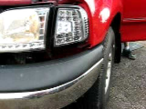 1998 2001 Ford F150 Led Headlights And Signal Lights Youtube