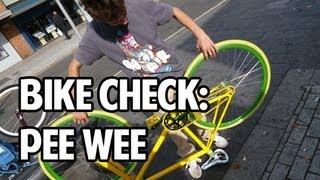 Pee Wee Bike Check