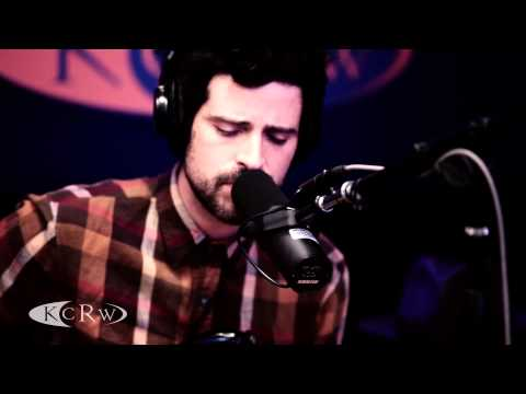 Devendra Banhart performing