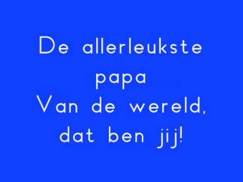 Vaderdagliedje Papa Pap Tijl Damen Youtube