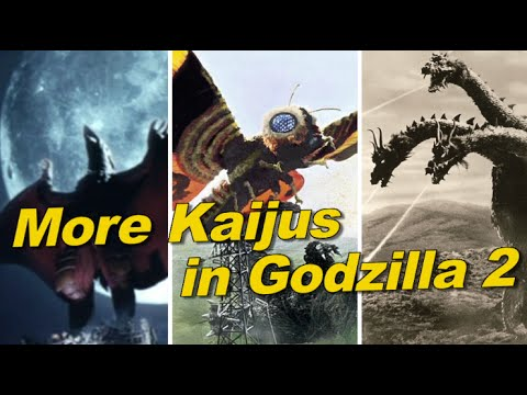 More Kaijus in Godzilla 2 and King Kong!!!