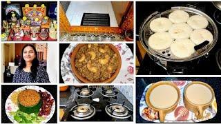 Indian evening 5pm - 9pm Routine || Kitchen Cleaning , Evening Tea, Indian Dinner prep|| Nalla karam