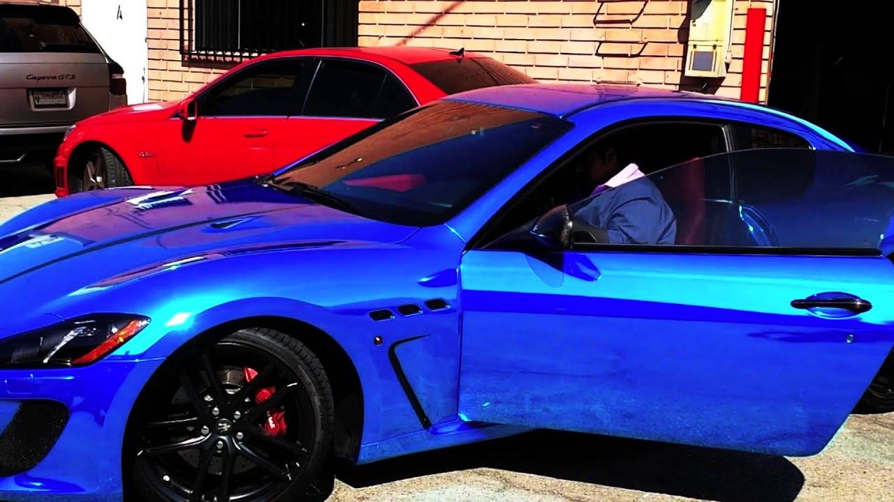 Project 2013 Maserati Granturismo Mc Blue Chrome By Dbx
