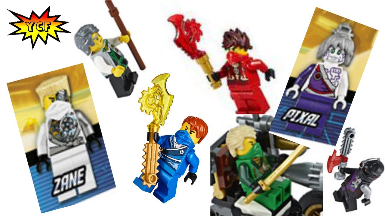 EVERY Ninjago 2014 Minifigure Pictures!! - YouTube