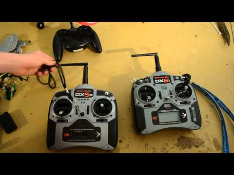 The transmitter talk- Side- by- Side comparison and review of the Spektrum DX5e!