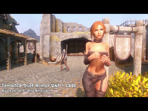Skyrim Mod Review 29 - Kawaii, High Class And Sexy Followers. Tembtra - Series: Boobs And Lubes video