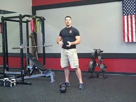 Kettlebell Clean And Press Technique Tip Image 1