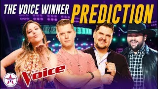 The Voice Finale: PREDICTION TIME! Who Will Win The Voice Season 16?
