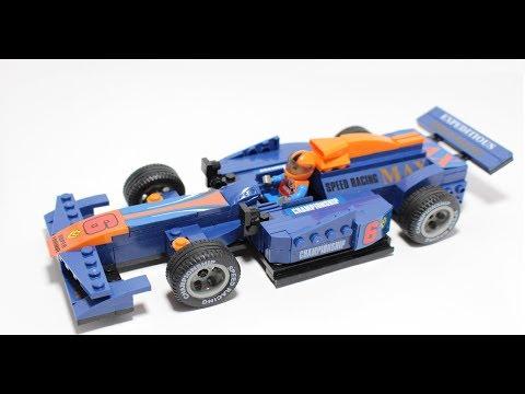 Lego Cars F1 Speed Build - Toys Car Formula 1