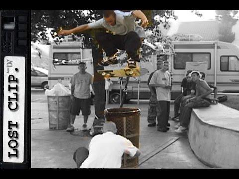 Daniel Lebron Lost Skateboarding Clips #168