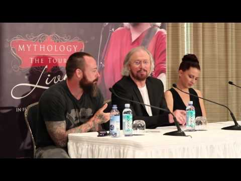 Barry Gibb media conference - part 2