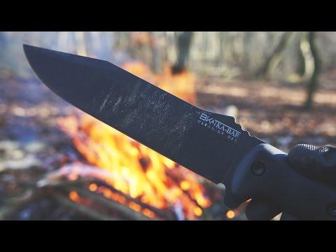 Ka-Bar Becker BK-7 - Knife Review & Demonstration
