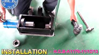 H.C.B-A1170-11/12/13 TRUCK TORQUE-ROD BUSH REMOVAL/INSTALLATION FOR U.S.A. TRUCK