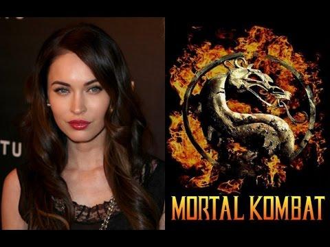 Megan Fox Playing Mortal Kombat 9 video