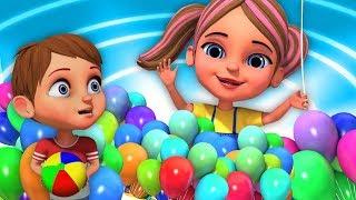 Gubbare Wala | Nursery Rhyme In Hindi | गुब्बारे वाला  | Kids Poem In Hindi | Little Treehouse India