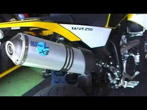 WR250X レオビンチマフラーはこんな音(YAMAHA・YSP大分)