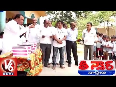 MP Malla Reddy Motivates Govt Students With Funny Speech | Teenmaar News | V6 News