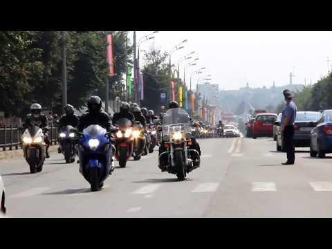 Тысяча байкеров едет на рынок в Сергиевом Посаде
