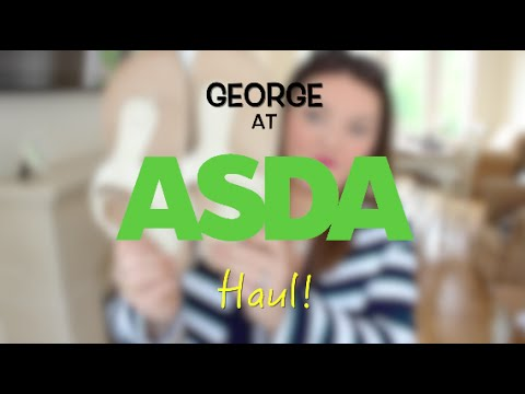 Bargain George at ASDA Haul For The Curvy Lady!