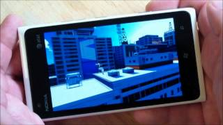 Mirrors Edge for Xbox LIVE on Nokia Lumia Windows Phones