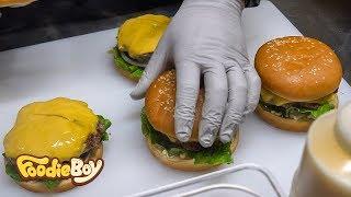 Handmade Burger / Korean Street Food / Seomun Night Market, Daegu Korea