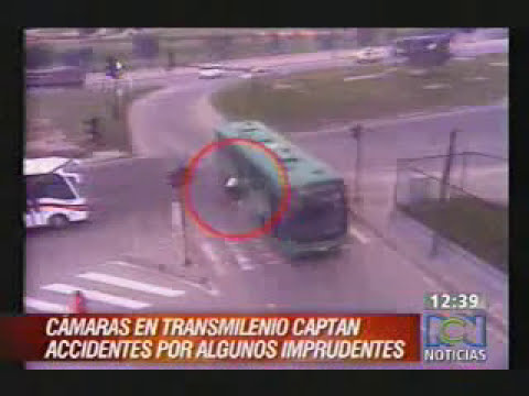 Accidentes en TrasMilenio