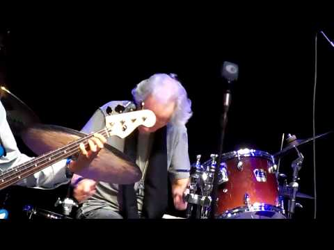 """John Densmore playing """"The Crystal Ship"""" at Bergen Community College"""