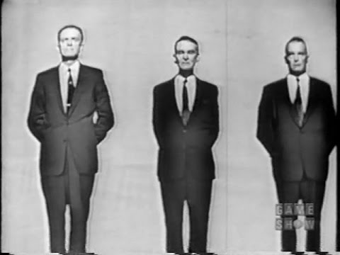 To Tell the Truth - Melvin Purvis, the FBI agent who caught Dillinger (Sep 24, 1957)