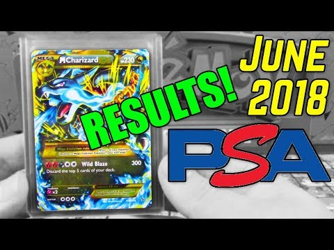 Pokemon PSA Submission RESULTS!! | June 2018