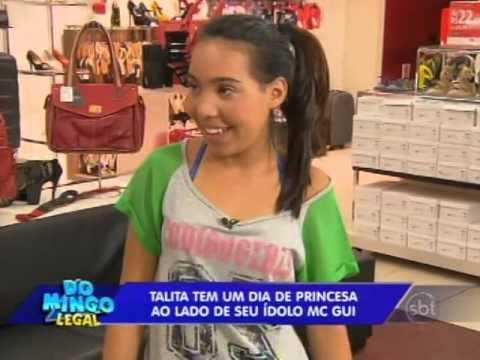 Domingo Legal (26/01/14) - MC Gui realiza o sonho de mais uma fã
