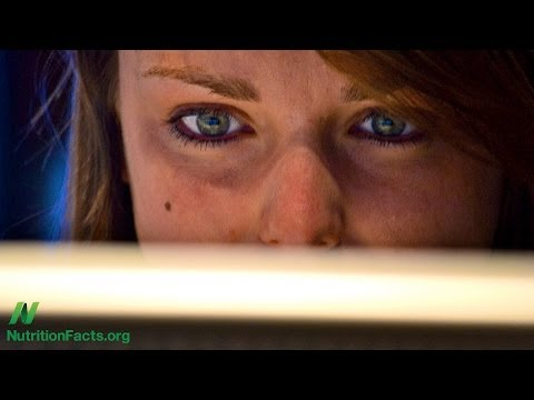 Dietary Treatments for Computer Eye Strain