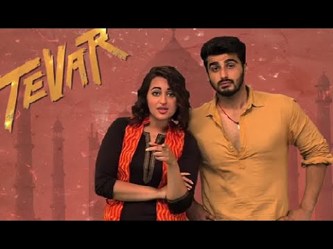 Arjun Kapoor and Sonakshi Sinha are coming to your Facebook | Tevarbook - COMING SOON