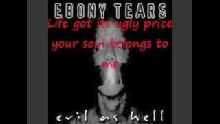 Watch Ebony Tears Soulcrusher video