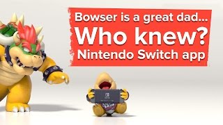 Turns out Bowser is a great dad - Nintendo Switch Parental Controls app