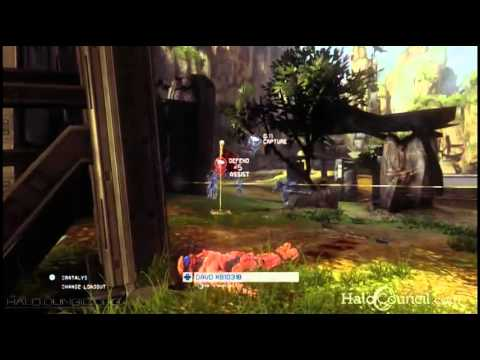 Halo 4 - CTF on Exile [Direct Footage] Pax 2012