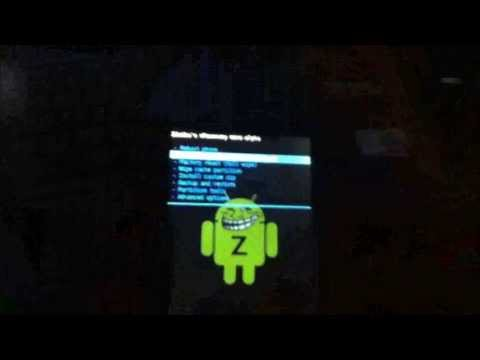 Tutorial de Como Instalar o Xrecovery No Android - Xperia X8