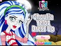 Monster High- Ghoulia Yelps Dress Up- Free Online Dress Up Games- Girl Kids Games