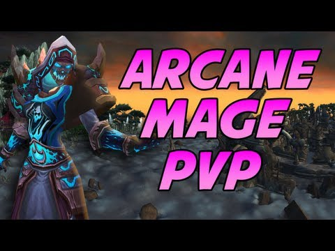 ARCANE MAGE OWNS in 2v2 Arena PvP by Cartoonz