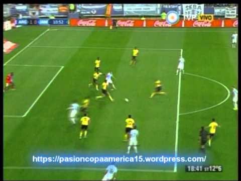 Argentina 1 Jamaica 0 (Relato  Lucas Agosta)  Copa America 2015