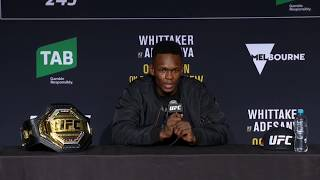 UFC 243: Post Fight Press Conference Highlights