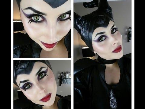 MALEFICENT Makeup Tutorial - Trucco Halloween