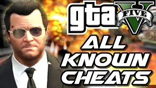 GTA V PC - All Known CHEATS