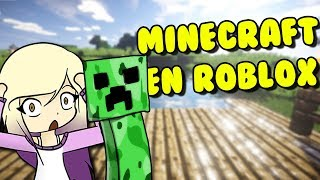 MINECRAFT EN ROBLOX