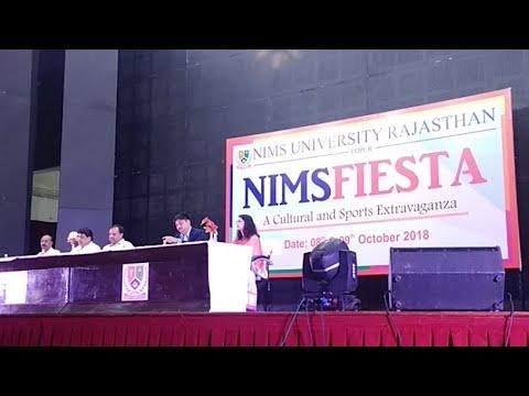 Live : NIMSFIESTA 2018 | Nims University | Dr Balvir S Tomar