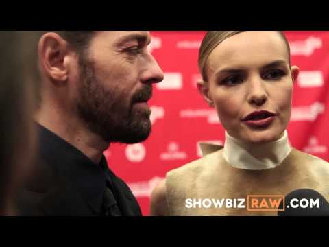 Kate Bosworth and Michael Polish premiering Big Sur at the Sundance Film Festival